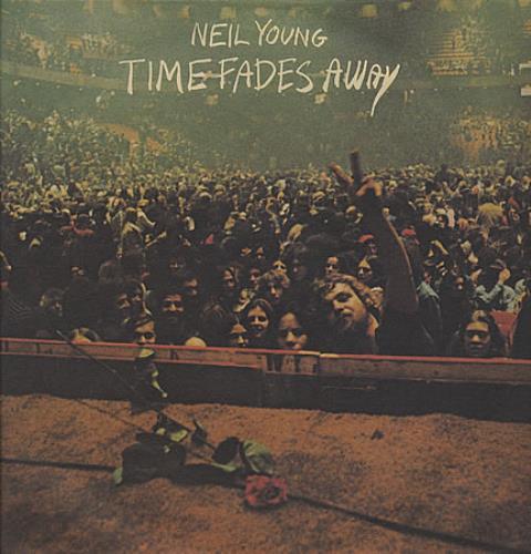Neil Young Time Fades Away vinyl LP album (LP record) German YOULPTI402432