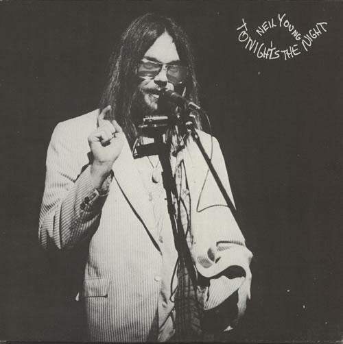 Neil Young Tonight's The Night + Insert vinyl LP album (LP record) German YOULPTO615892