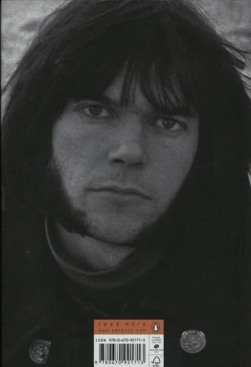 Neil Young Waging Heavy Peace book UK YOUBKWA574409