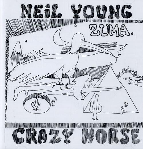 Neil Young Zuma Japanese Cd Album Cdlp 558644
