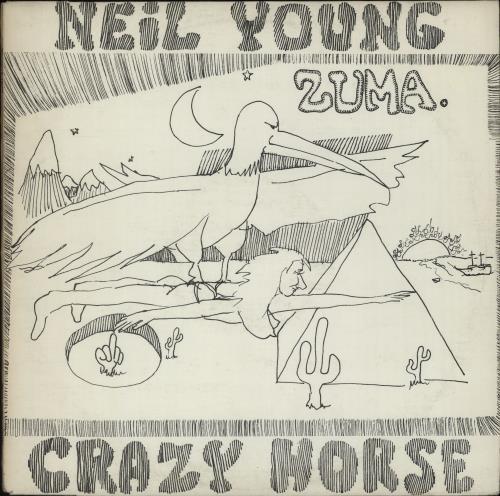 Neil Young Zuma vinyl LP album (LP record) UK YOULPZU663030
