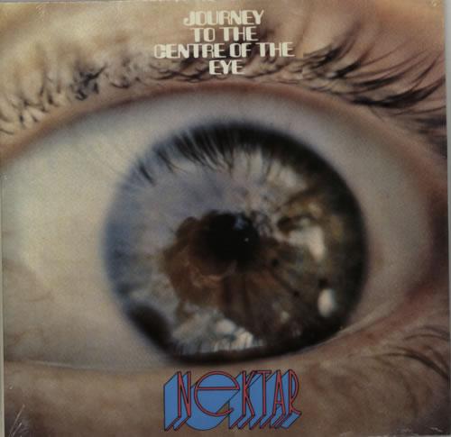 Nektar Journey To The Centre Of The Eye - Red Vinyl 2-LP vinyl record set (Double Album) US NEK2LJO601054
