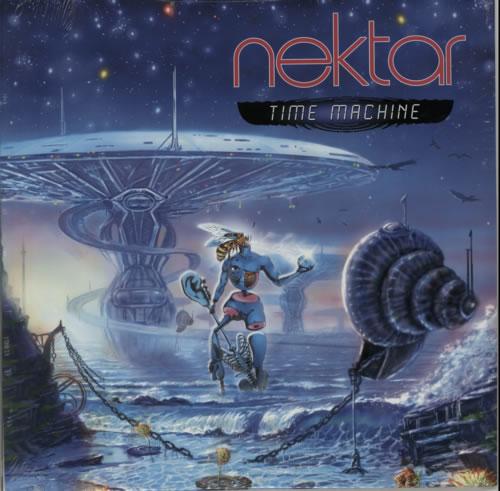 Nektar Time Machine - Sealed vinyl LP album (LP record) US NEKLPTI601025