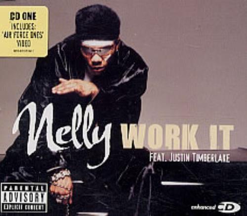 "Nelly Work It CD single (CD5 / 5"") European NLYC5WO247080"