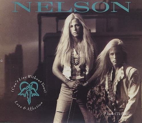 "Nelson (Can't Live Without Your) Love And Affection CD single (CD5 / 5"") German NELC5CA274736"