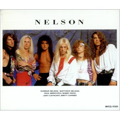 Nelson Nelson CD album (CDLP) Japanese NELCDNE23829