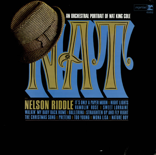 Nelson Riddle An Orchestral Portrait Of Nat King Cole vinyl LP album (LP record) UK NLRLPAN475468