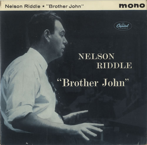 """Nelson Riddle Brother John EP 7"""" vinyl single (7 inch record) UK NLR07BR473787"""