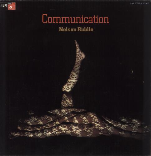 Nelson Riddle Communication vinyl LP album (LP record) UK NLRLPCO745305