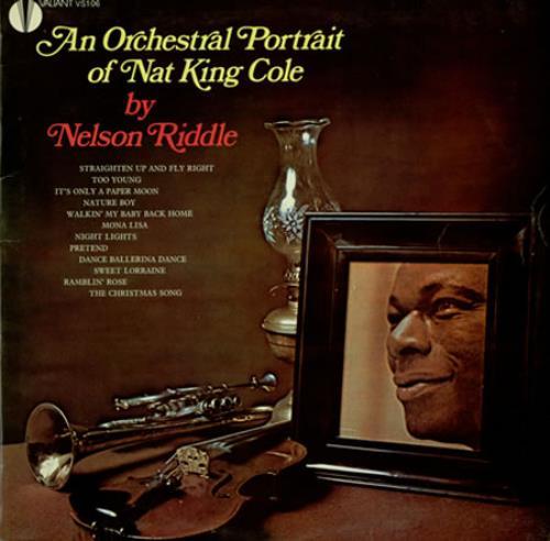 Nelson Riddle Nat - An Orchestral Portrait Of Nat King Cole vinyl LP album (LP record) UK NLRLPNA387193