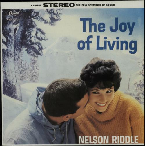 nelson riddle the joy of living french vinyl lp album lp record