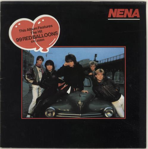 Nena Nena - Hype Stickered UK vinyl LP album (LP record