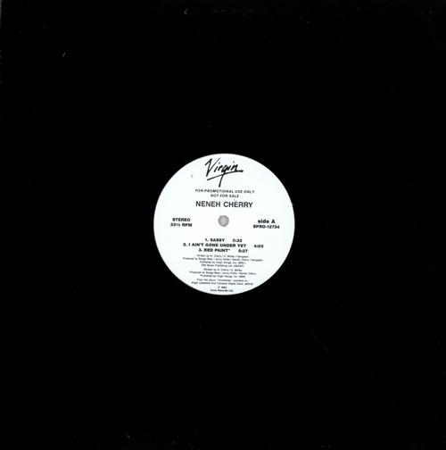 "Neneh Cherry Homebrew Sampler 12"" vinyl single (12 inch record / Maxi-single) US NEN12HO476182"