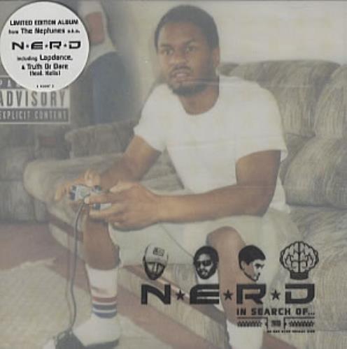 NERD In Search Of... CD album (CDLP) UK NRDCDIN338443