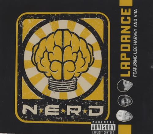 "NERD Lapdance CD single (CD5 / 5"") European NRDC5LA359544"