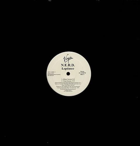 "NERD Lapdance 12"" vinyl single (12 inch record / Maxi-single) US NRD12LA362245"