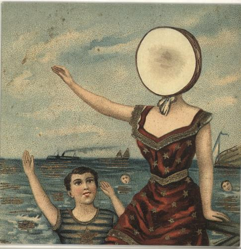 Neutral Milk Hotel In The Aeroplane Over The Sea vinyl LP album (LP record) UK NETLPIN691102