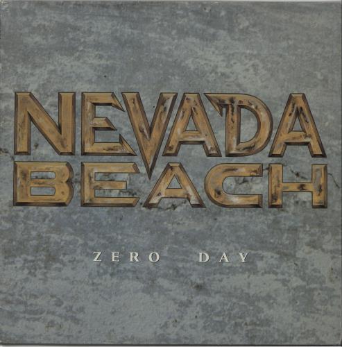 Nevada Beach Zero Day vinyl LP album (LP record) French OFXLPZE657449