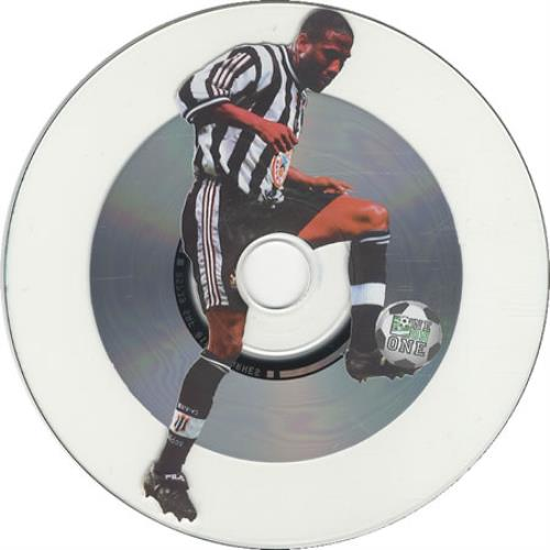 "Newcastle United FC John Barnes - The Interview Disc CD single (CD5 / 5"") UK NUFC5JO402337"