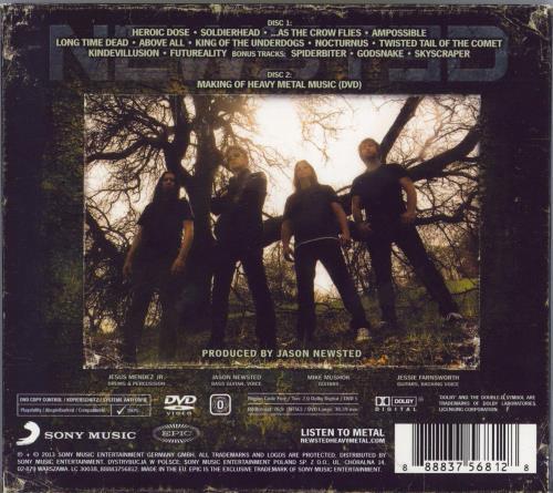 Newsted Heavy Metal Music 2-disc CD/DVD set UK NX32DHE769028