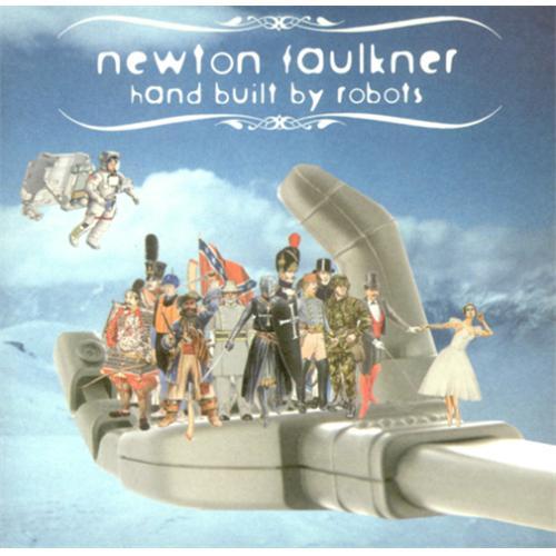 Newton Faulkner Hand Built By Robots & Dream Catch Me CD album (CDLP) UK NFKCDHA415865