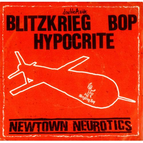 "Newtown Neurotics Blitzkrieg Bop 7"" vinyl single (7 inch record) UK NNU07BL419298"