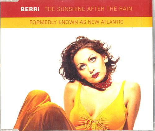 "New Atlantic The Sunshine After The Rain CD single (CD5 / 5"") UK NF2C5TH580778"