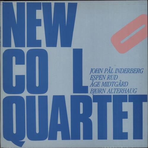 New Cool Quartet New Cool Quartet vinyl LP album (LP record) Norwegian O12LPNE675342