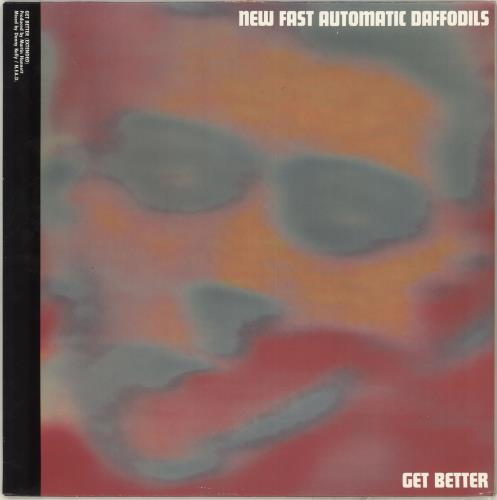 "New Fast Automatic Daffodils Get Better 12"" vinyl single (12 inch record / Maxi-single) Dutch NFA12GE713069"