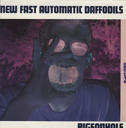 New Fast Automatic Daffodils Pigeonhole vinyl LP album (LP record) Dutch NFALPPI319713