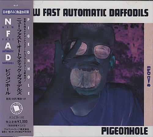 New Fast Automatic Daffodils Pigeonhole CD album (CDLP) Japanese NFACDPI353155