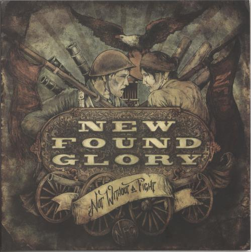 New Found Glory Not Without A Fight - Grey Vinyl vinyl LP album (LP record) US NFGLPNO740405