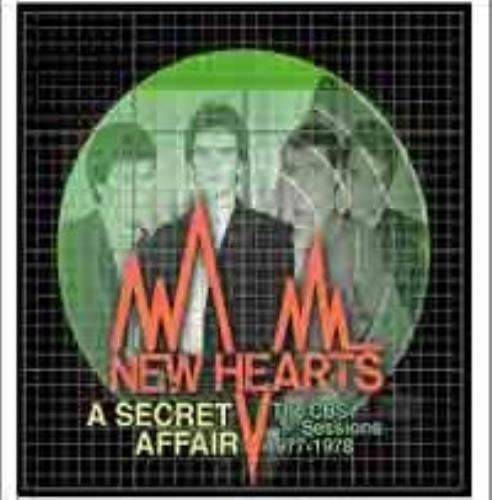 New Hearts A Secret Affair: The CBS Sessions 1977-1978 CD album (CDLP) UK NE7CDAS484990