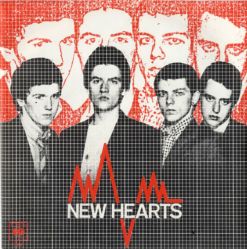 """New Hearts Just Another Teenage Anthem - 'A' Label + Sleeve 7"""" vinyl single (7 inch record) UK NE707JU594716"""