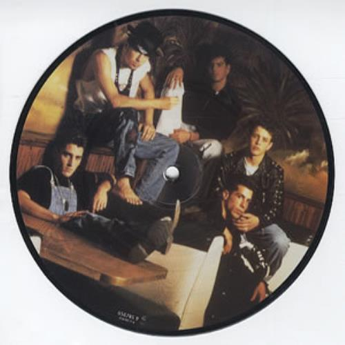 "New Kids On The Block Call It What You Want 7"" vinyl picture disc 7 inch picture disc single UK NKO7PCA314304"