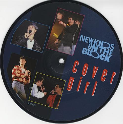 """New Kids On The Block Cover Girl 7"""" vinyl picture disc 7 inch picture disc single UK NKO7PCO11634"""