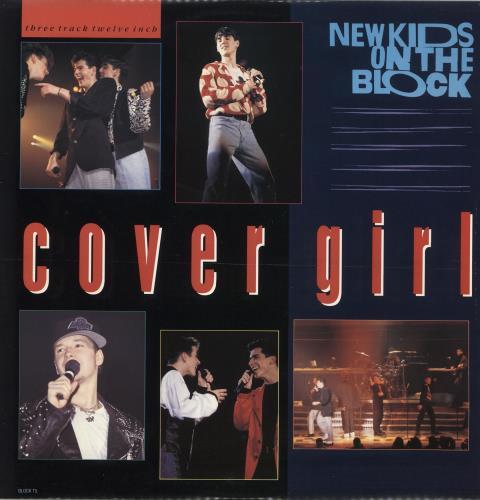 "New Kids On The Block Cover Girl 12"" vinyl single (12 inch record / Maxi-single) UK NKO12CO24417"