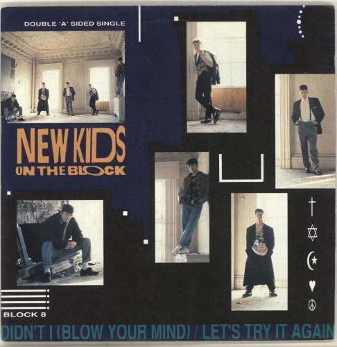 """New Kids On The Block Didn't I Blow Your Mind 7"""" vinyl single (7 inch record) UK NKO07DI243193"""