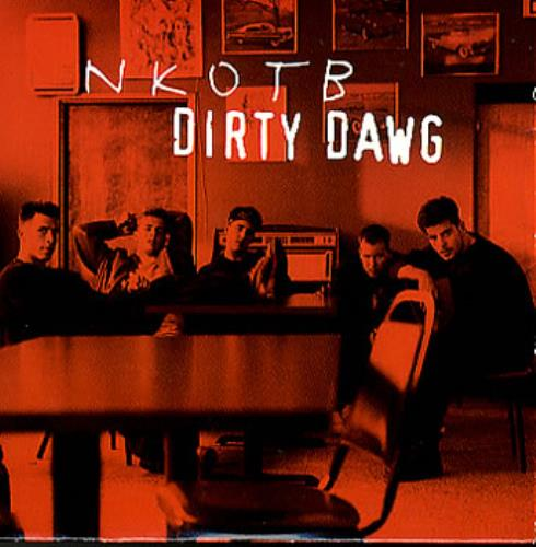 "New Kids On The Block Dirty Dawg CD single (CD5 / 5"") European NKOC5DI328334"