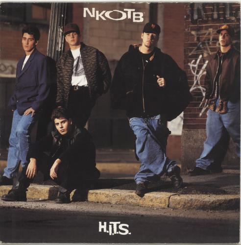 New Kids On The Block Hits vinyl LP album (LP record) UK NKOLPHI245850