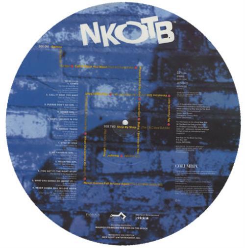 New Kids On The Block No More Games - The Remix Album picture disc LP (vinyl picture disc album) UK NKOPDNO428911