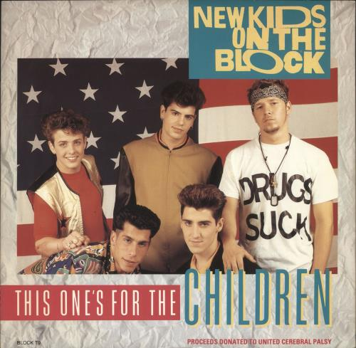"New Kids On The Block This One's For The Children 12"" vinyl single (12 inch record / Maxi-single) UK NKO12TH499572"