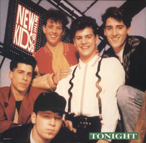 "New Kids On The Block Tonight 12"" vinyl single (12 inch record / Maxi-single) UK NKO12TO508395"