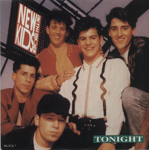 "New Kids On The Block Tonight 7"" vinyl single (7 inch record) UK NKO07TO685678"