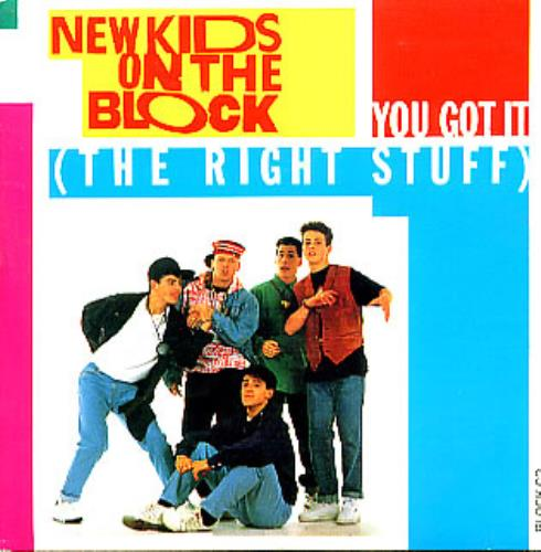 new kids on the block you got it the right stuff uk cd single cd5