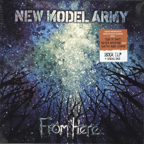 New Model Army From Here - 180gram Vinyl - Sealed 2-LP vinyl record set (Double Album) UK NMA2LFR728862