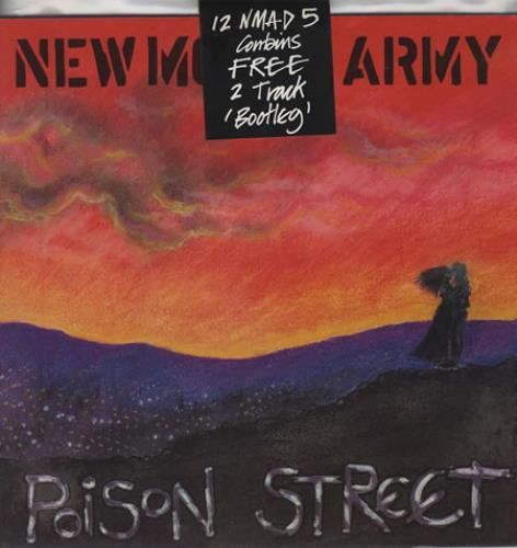"New Model Army Poison Street 12"" vinyl single (12 inch record / Maxi-single) UK NMA12PO22457"