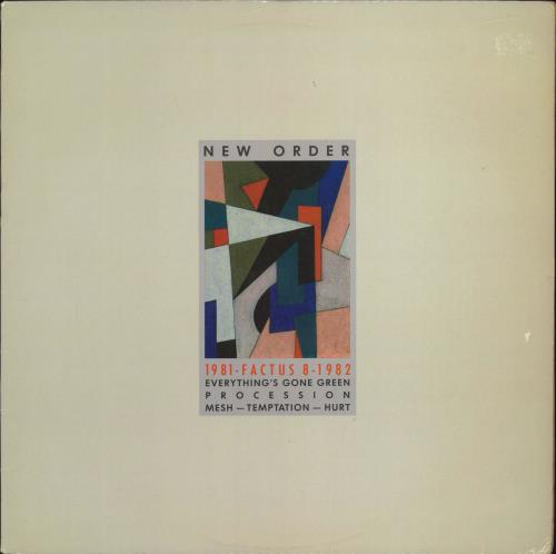 "New Order 1981-1982 (Nineteen Eighty One) - 2nd 12"" vinyl single (12 inch record / Maxi-single) US NEW12NI772673"