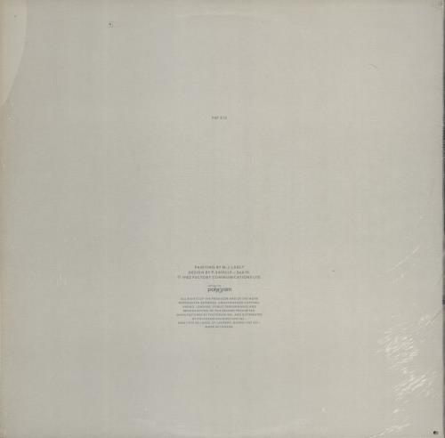 "New Order 1981-1982 (Nineteen Eighty..) - EX 12"" vinyl single (12 inch record / Maxi-single) Canadian NEW12NI767952"