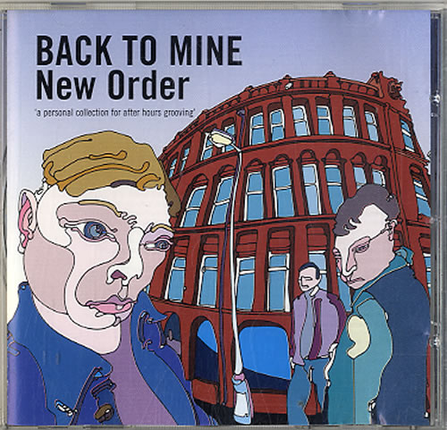 New Order Back To Mine CD album (CDLP) UK NEWCDBA593469